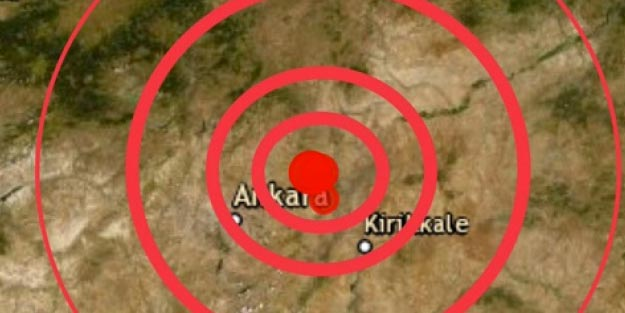Ankara deprem Kandilli Rasathanesi AFAD