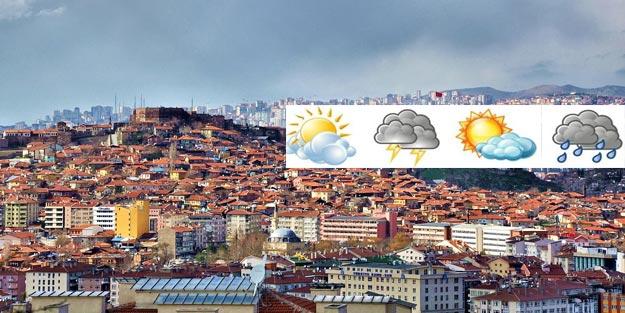 Ankara hava durumu! Ankara'da hava nasıl olacak?