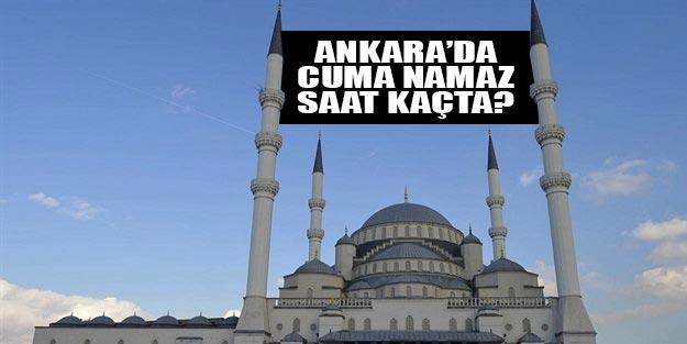 Ankara için cuma namazı saat kaçta?