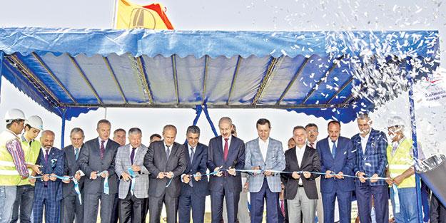 Ankara-İstanbul Otoyolu Lojistik Köprülü Kavşağı açıldı