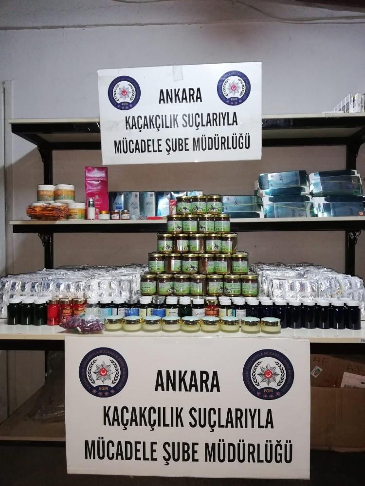 ANKARA POLİSİNDEN KAÇAKÇILIK OPERASYONU