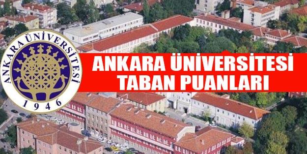 Ankara Üniversitesi taban puanları 2019