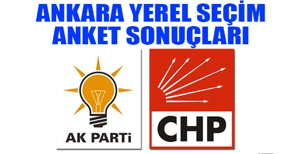 Ankara yerel seçim anketi 2019 yerel seçim Ankara sonuçları son dakika