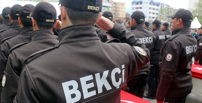 Ankara'da bin bekçi görev başında