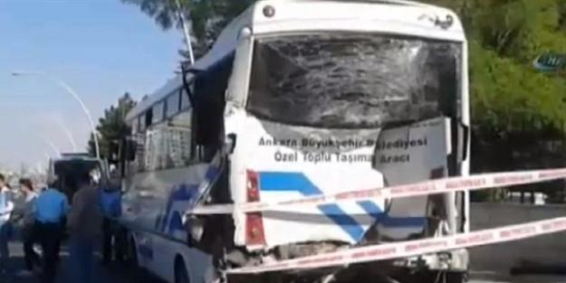 Ankara'da bir feci kaza daha! çok sayıda ambulans sevk edildi