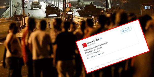 Ankara'da 'darbe oluyor' iddiası ortalığı karıştırdı