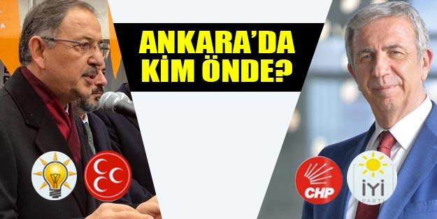 Ankara'da hangi parti önde? Ankara anket sonuçları 2019