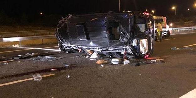 Ankara'da korkunç kaza! Çok sayıda yaralı var