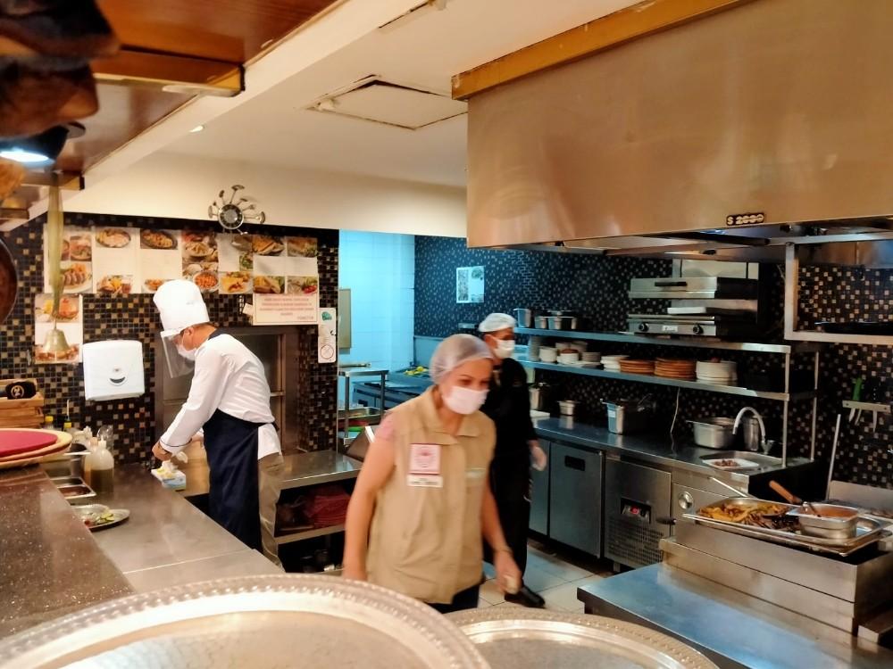 Ankara'da lokantalara korona virüs denetimi