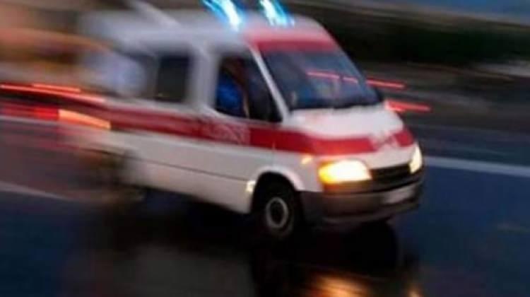 Ankara'da minibüs devrildi: 5 yaralı