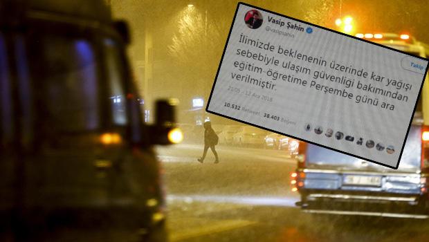 Ankara'da okullar tatil mi? Valilik uyardı! Sahte görsel