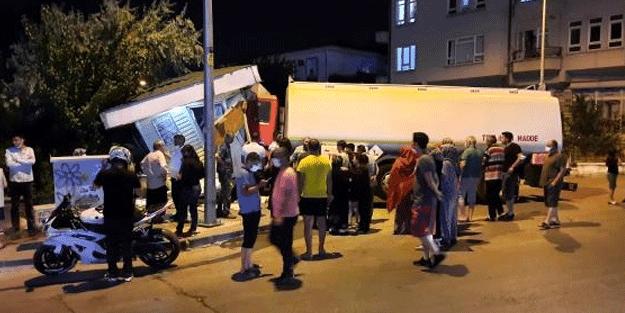 Ankara'da yürekler ağza geldi! Olası faciayı engelleyen detay
