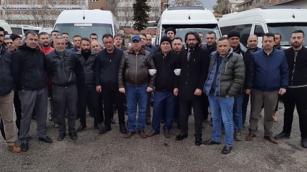 Ankaralı servis şoförlerinden yardım çağrısı: