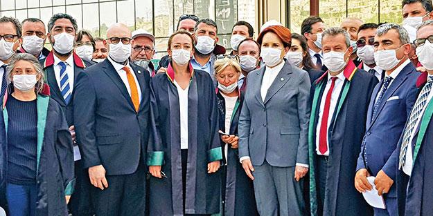 Ankara'ya yürüyen Baro'nlara Akşener ve Mansur'dan destek!