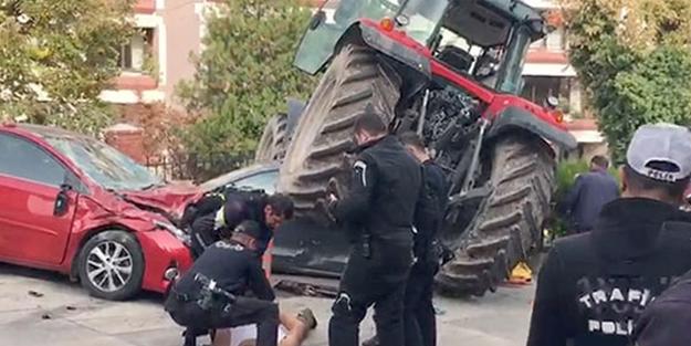 Ankara'yı karıştıran traktörlü şahıs tutuklandı