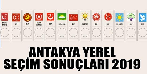 Antakya yerel seçim 2019 sonuçları | Antakya belediye seçim sonuçları | Cumhur ittifakı Millet ittifakı oy oranı