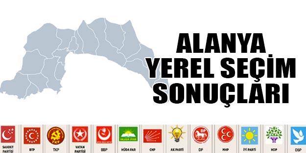 Antalya Alanya Yerel Secim Sonuclari 2019 31 Mart 2019