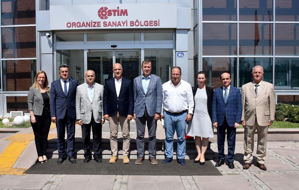 Antalya OSB Teknopark ile OSTİM Teknopark'tan örnek işbirliği