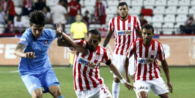 Antalya Trabzon'u 7 bitirdi