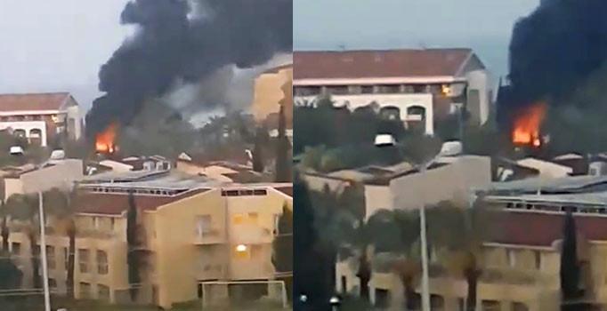 Antalya'da 5 yıldızlı otelde korkutan yangın