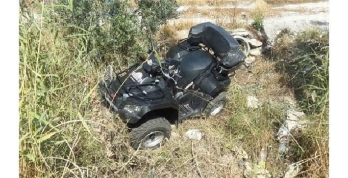 Antalya'da ATV kazası: 1 ölü