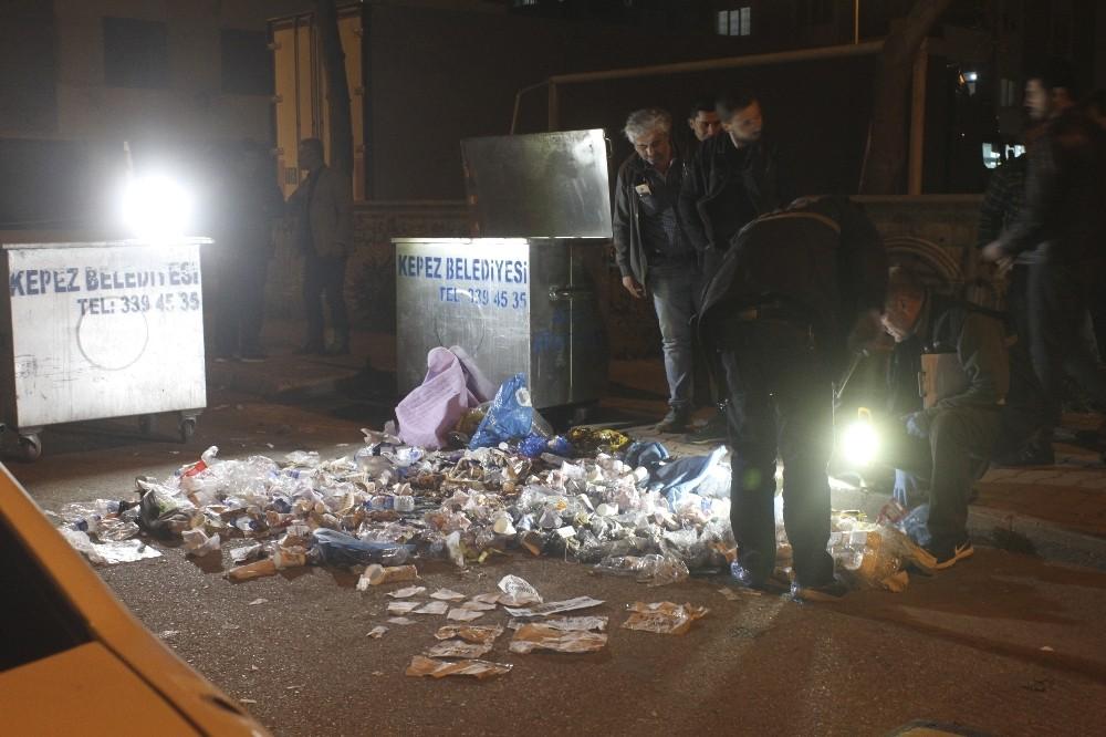 Antalya'da çöp konteynerinden mühürlü oy pusulası çıktı