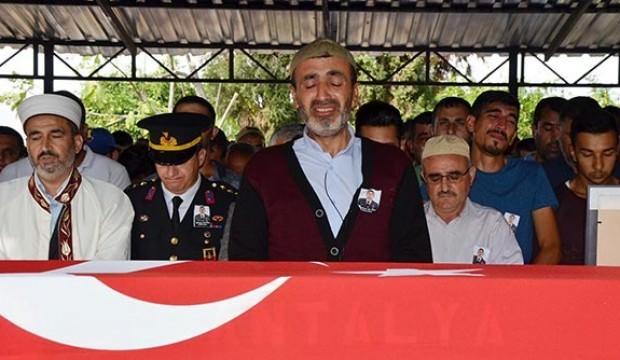 Antalya'da imamın en zor cenaze namazı