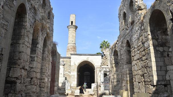 Antalya'da 'Kesik Minare' 123 yıl sonra ibadete açılacak