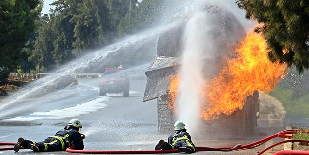 Antalya'da korku dolu saatler! LPG tankeri 7,5 saattir aralıksız yanıyor