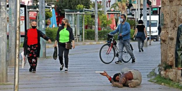 Antalya'da rezalet! Yine ortaya çıktı