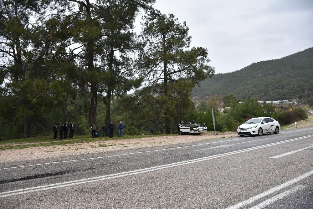 Antalya'da üç trafik kazasında 1 kişi öldü, 10 kişi yaralandı