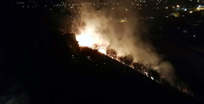 Antalya'da Xanthos Antik Kenti çevresindeki yangın söndürüldü