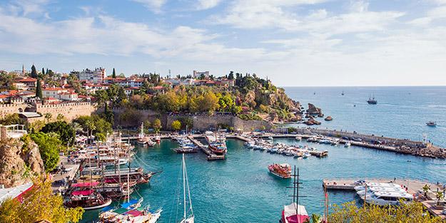 Antalya'da yabancı turist rekoru!