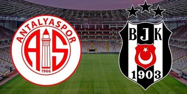 Antalyaspor Beşiktaş maçı muhtemel 11'leri