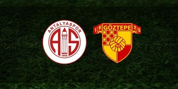 Antalyaspor Göztepe maçı saat kaçta hangi kanalda?