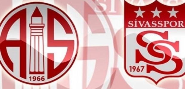 Antalyaspor-Sivasspor Maçı muhtemel kadrolar