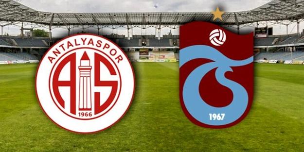 Antalyaspor Trabzonspor maçı ne zaman, saat kaçta, hangi kanalda?