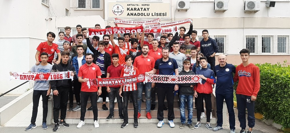 Antalyaspor'a Karatay morali