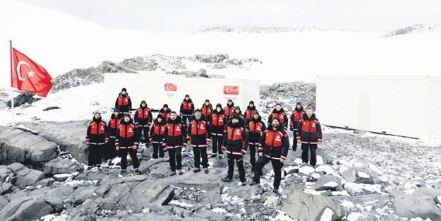 'Antarktika'ya ilk camiyi yapmak Türkiye'ye yakışır'