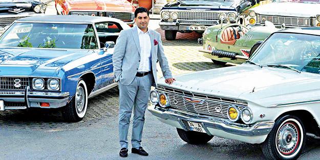 Antika otomobilcilerin yeni başkanı Tayalı