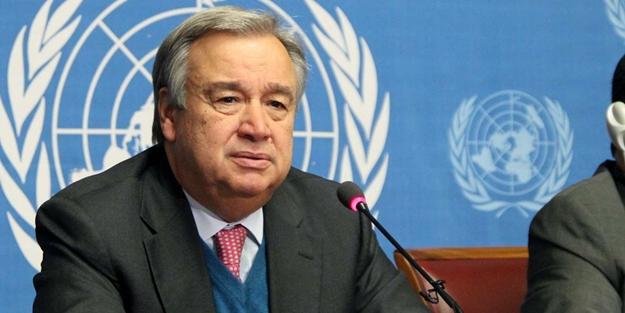 Antonio Guterres: Ateşkes ilan edilmeli