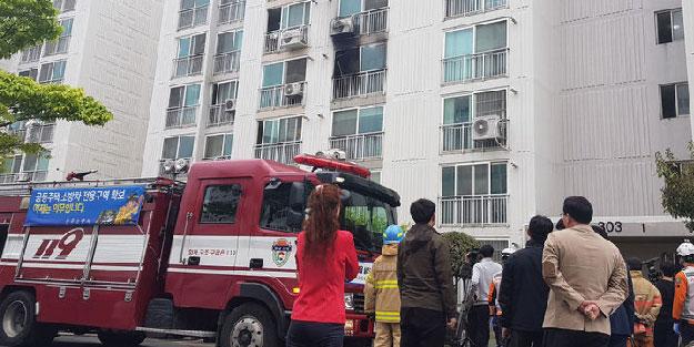Apartmanda yangın çıkardı, kaçanları bıçakladı! 5 ölü, 13 yaralı var