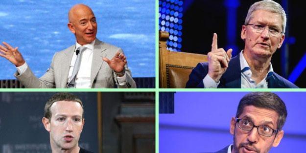Apple, Amazon, Facebook ve Google güçlerini kötüye mi kullanıyor?