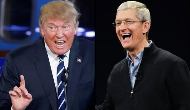 Apple CEO'su ile Donald Trump'ın 'dolar' kardeşliği!