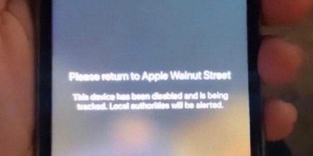Apple dükkanını yağmalayan ABD'lilere şok eden mesaj