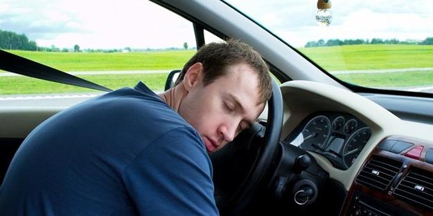 Arabada 'uyku' bu yüzden geliyor