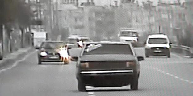 Arabanın fiyatından çok ceza yedi! Drift yapan sürücüye büyük şok