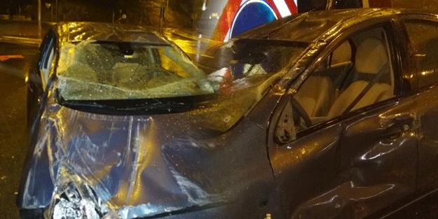 Arabası takla attı hava yastıkları açılmadı… Firmadan gelen cevapla şoke oldu