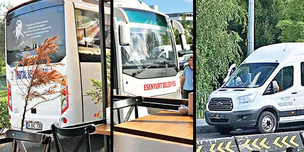 Araç teşhircilerinin son marifeti! CHP'li belediyeler Canan için otobüs kaldırdı