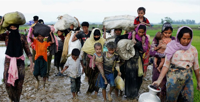 'Arakanlılara karşı işlenen suçlar soykırımdır'